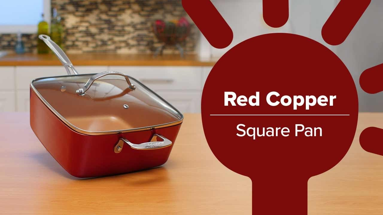 Buy Square Copper Pan