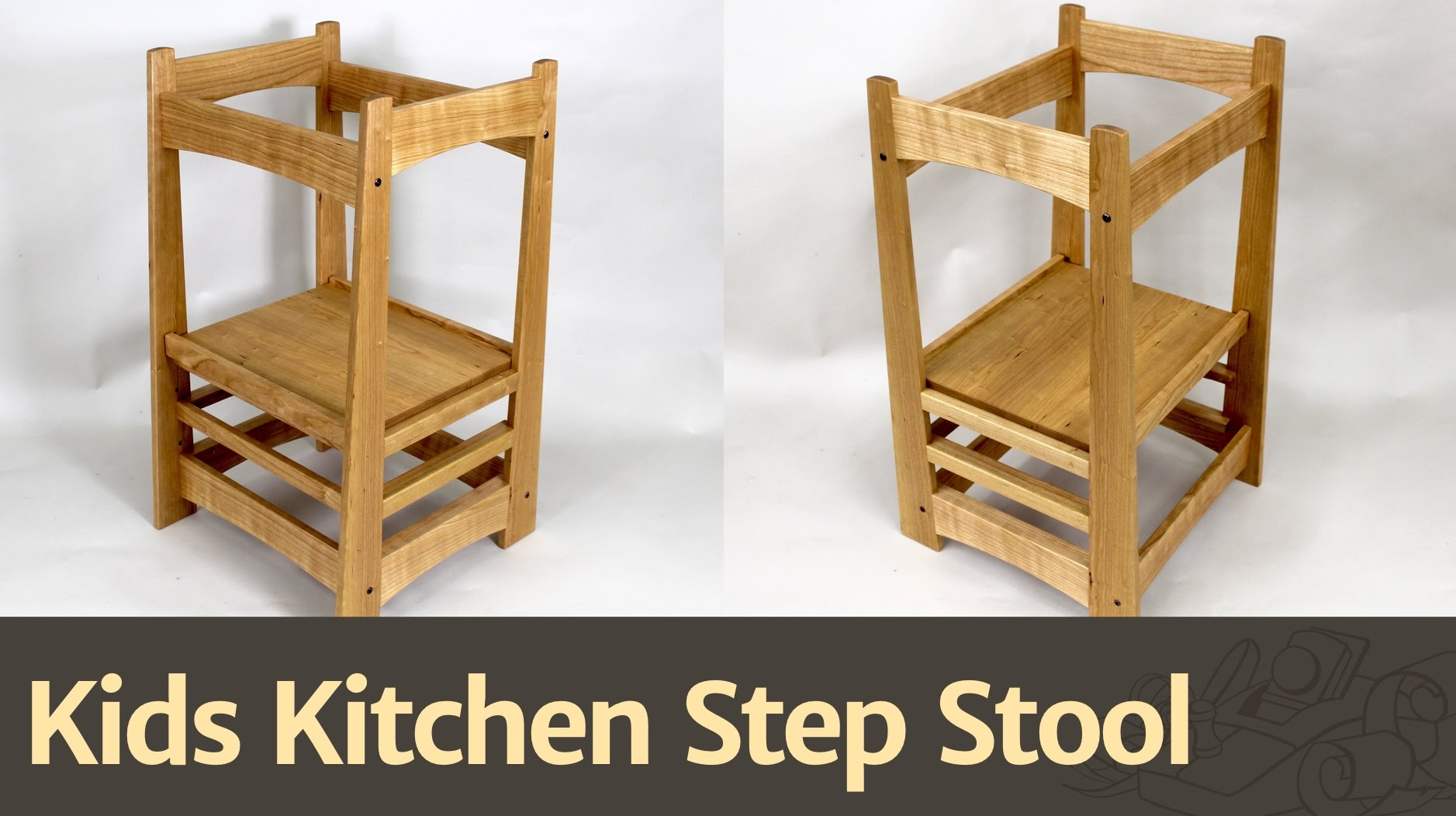 236 Kids Kitchen Step Stool