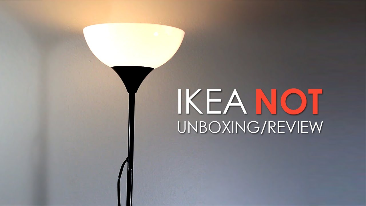 IKEA Floor Lamp – Unboxing | Online Tech Review