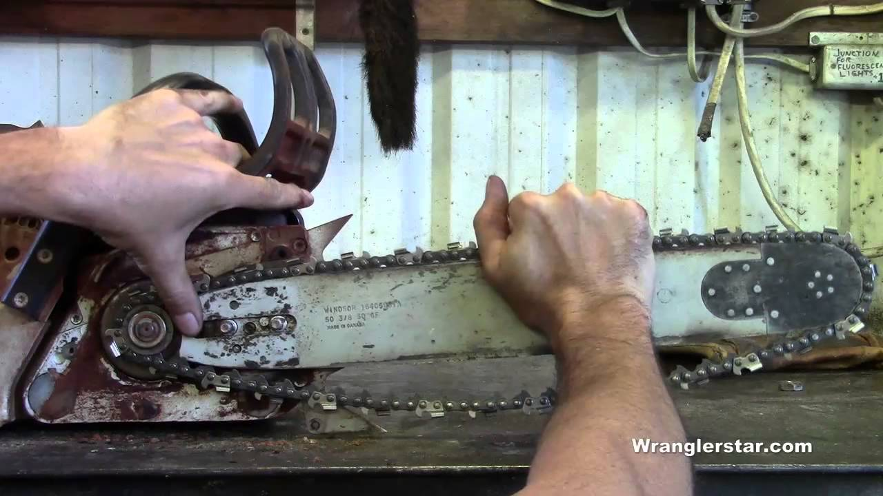 How To Make A Chainsaw Chain | Wranglerstar