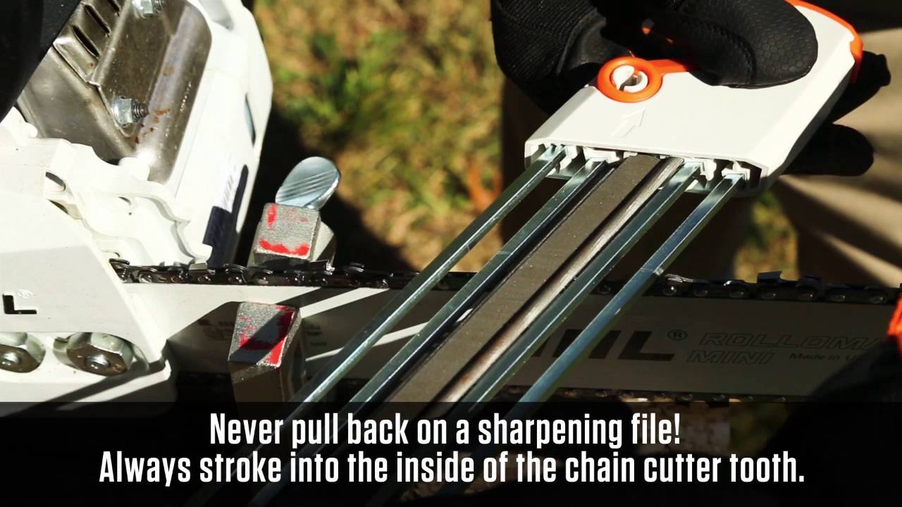 Sharpen Your Saw Chain with the 2 in 1 Filing Guide