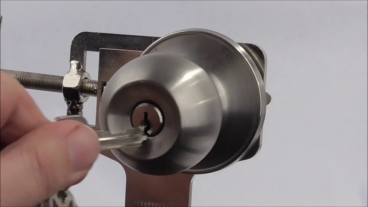 door knob bump key