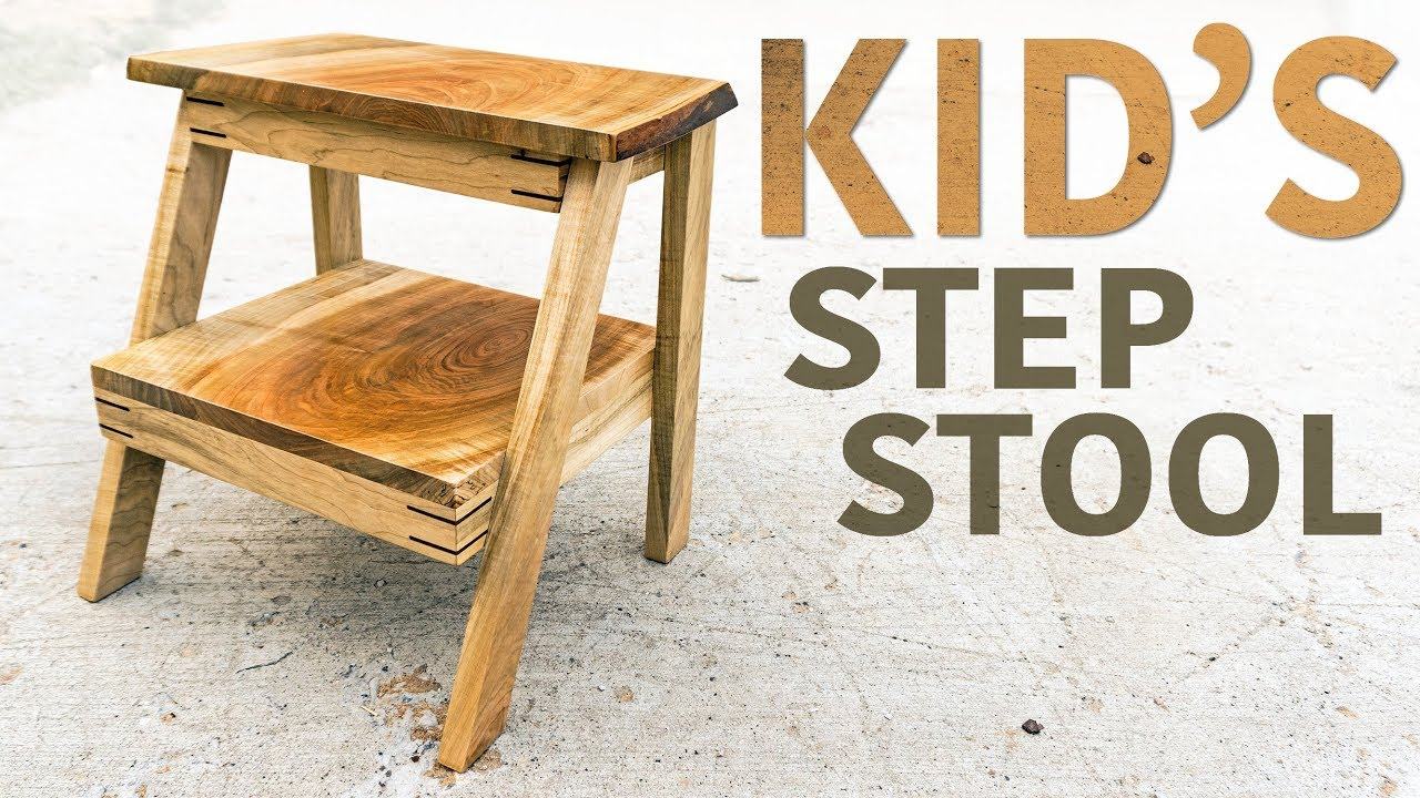 Making A Fancy Step Stool For Kids