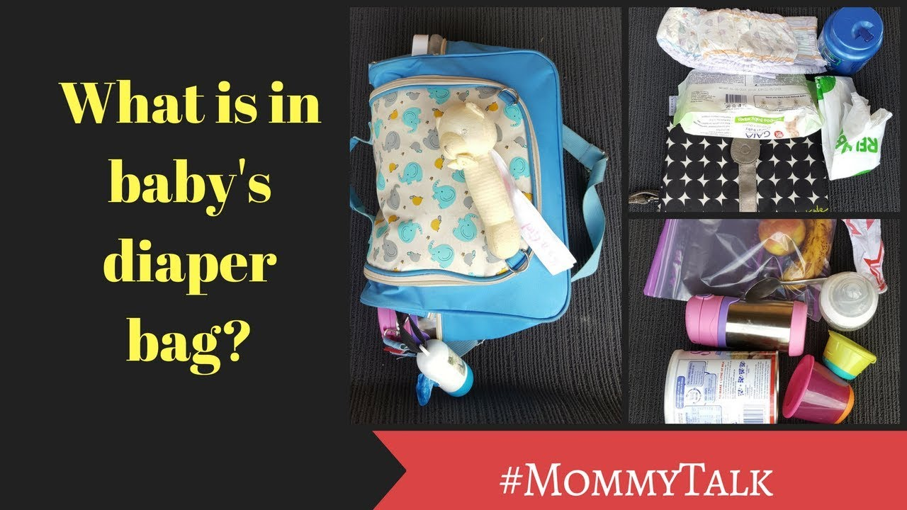Ep69- What is in my Diaper Bag    Baby Diaper bag checklist    Mom From Home
