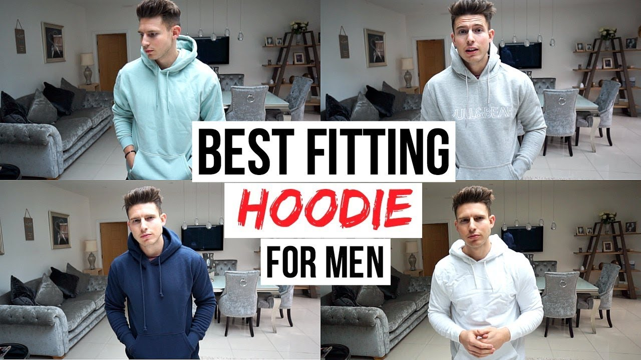 BEST FITTING HOODIES FOR MEN IN 2018 | UNDER £30 (H&M, Asos, New Look, Pull & Bear)