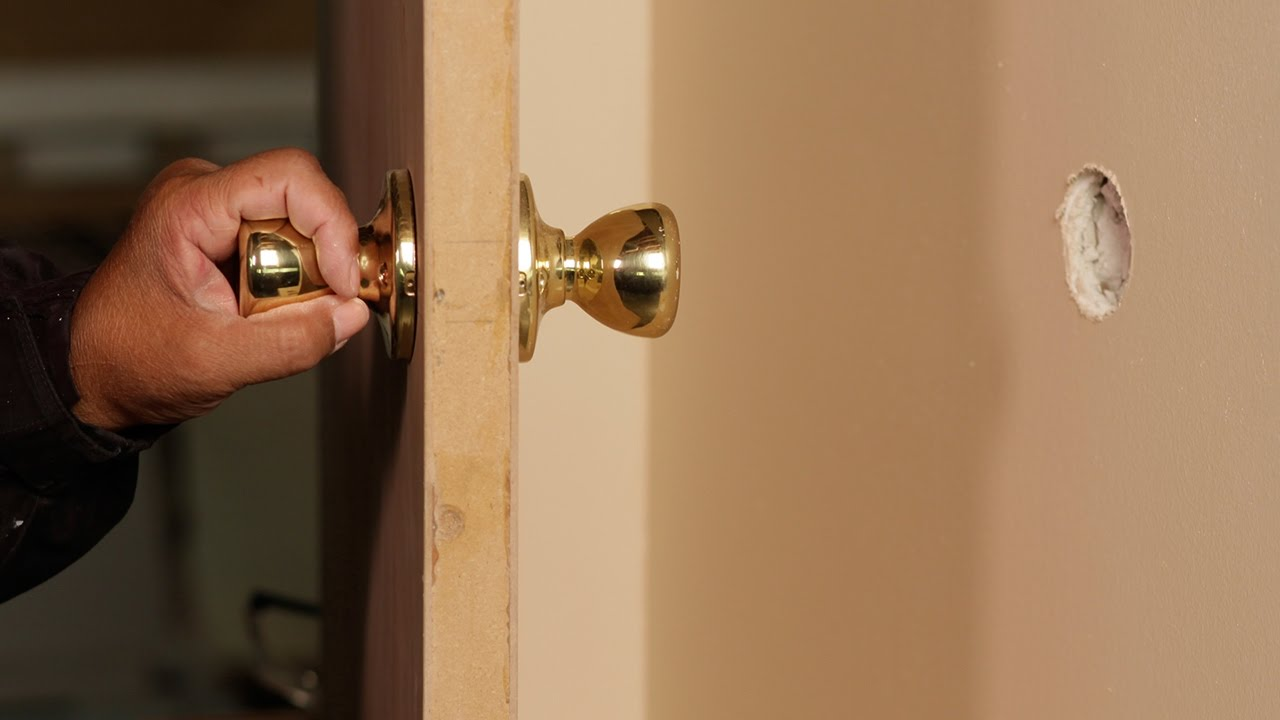 How To Fix (and Prevent!) Doorknob Holes In Walls: DIY Step-By-Step