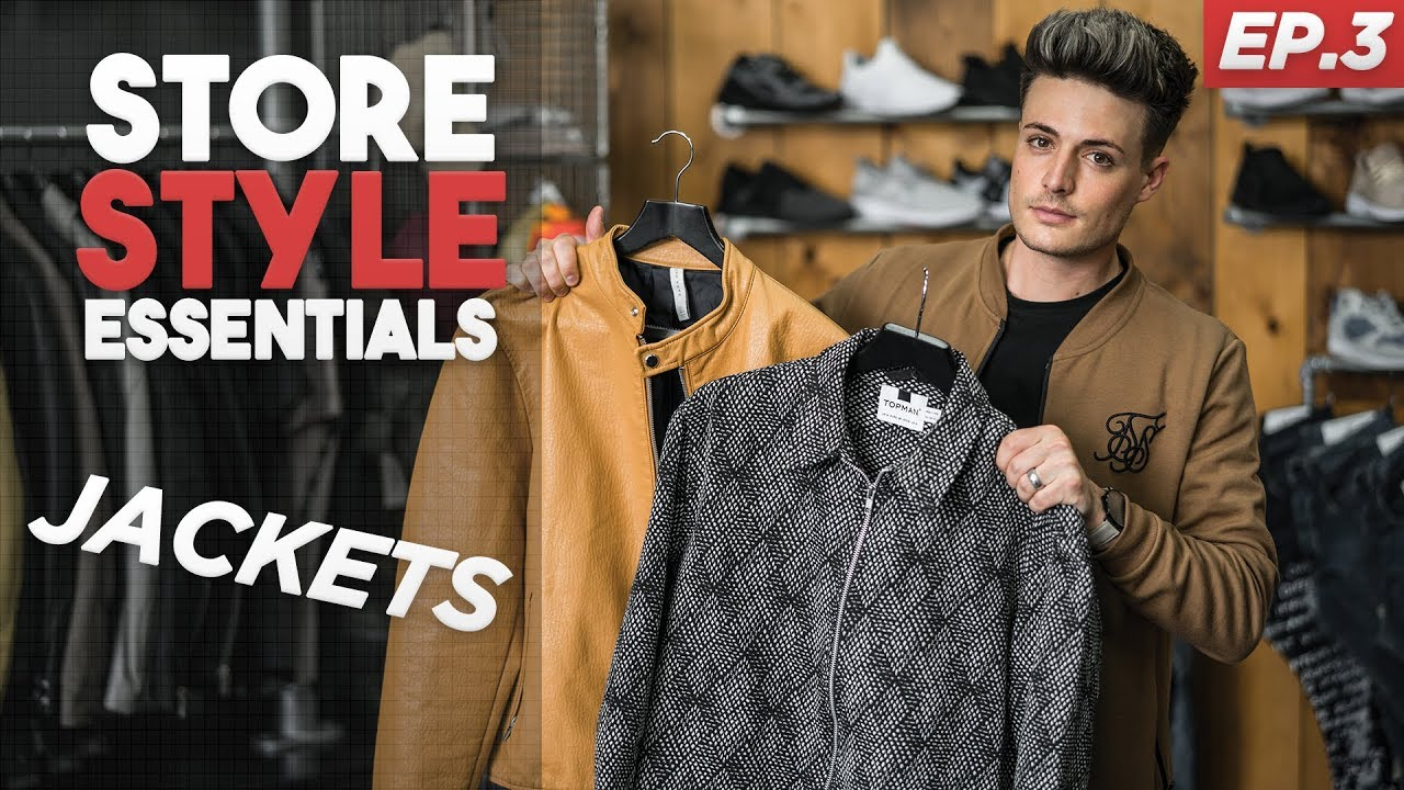 Top 3 MUST HAVE Jackets & Overshirts For Men | SSE | EPISODE 3
