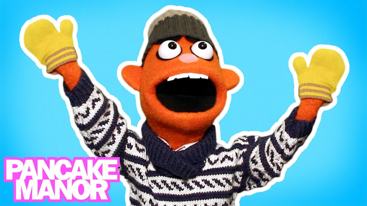 Sweater Song   Song for Kids   Pancake Manor