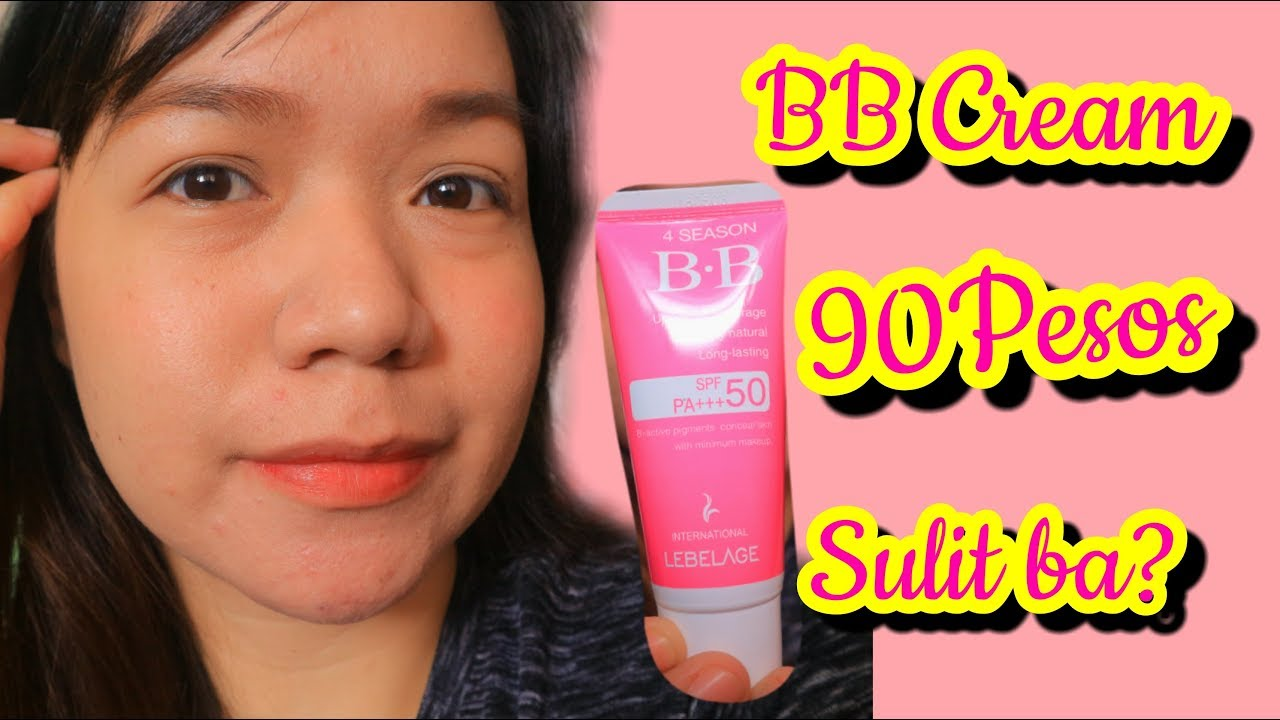 The Best Korean BB Cream 90 Pesos Lang Bes!