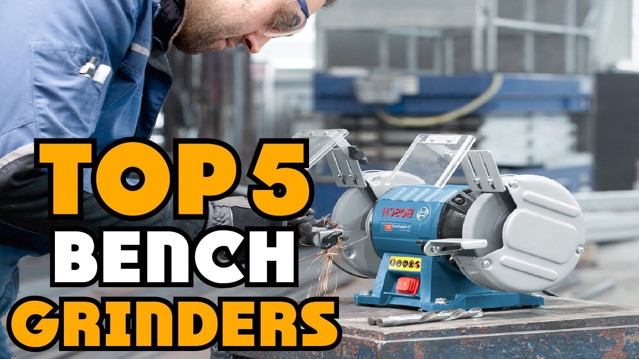 ✅ Bench Grinder: Top Rated Bench Grinder Reviews  | Best Bench Grinder For The Money (Buying Guide)