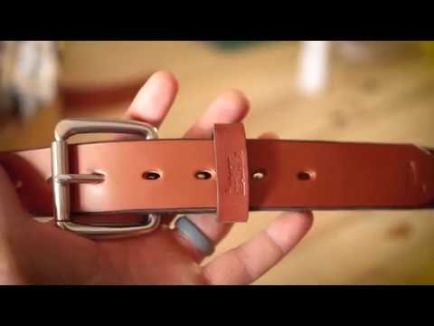 Leather Craft – Making A Leather Belt – Lumos Leather