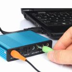 external sound card for laptop