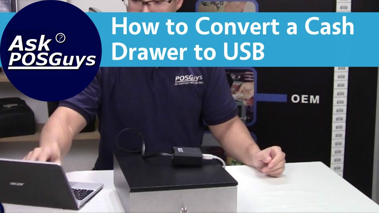 Ask POSGuys: How To Convert A Printer Driven Cash Drawer To USB