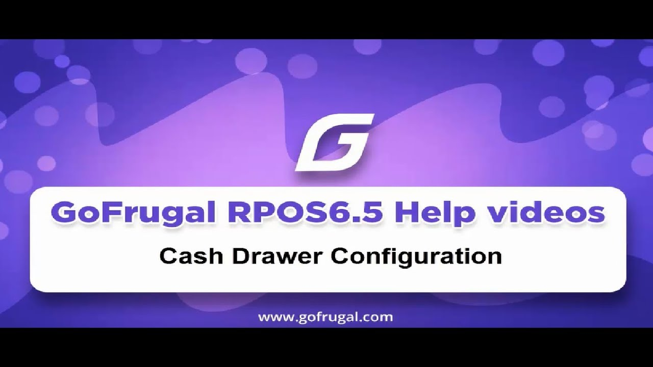 Steps To Configure Cash Drawer In Easy Print Design | GoFrugal RPOS6.5