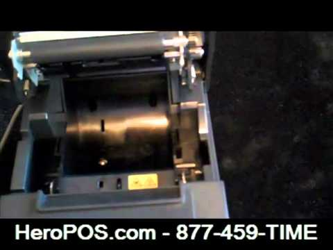 Installing The HeroPOS Receipt Printer And Cash Drawer – Www.HeroPOS.com
