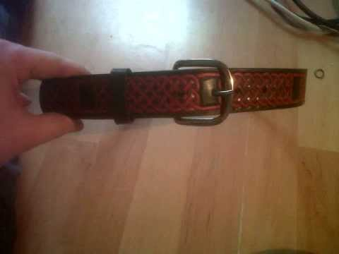 Leather Craft, Celtic Knotwork Belt, By Jack Moulder