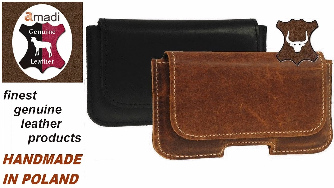 Ricardsson Genuine Leather Belt Loop Pouch – Holster – For Apple iPhone 7 Plus