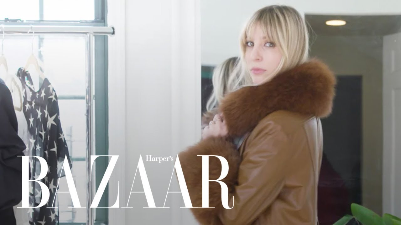 Trying On All My Winter Clothes | Try On My Closet | Harper's BAZAAR