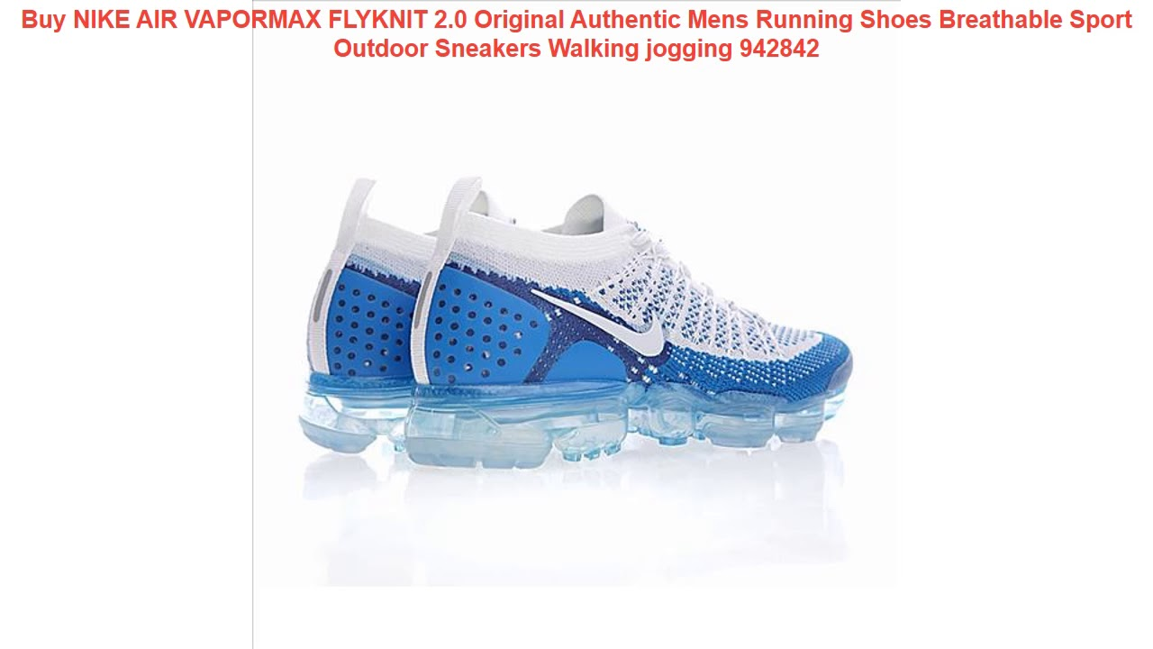 Buy NIKE AIR VAPORMAX FLYKNIT 2.0 Original Authentic Mens Running Shoe