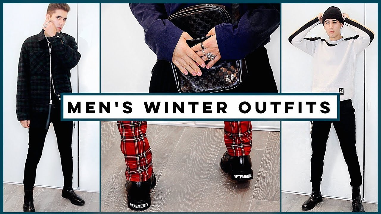 MENS WINTER OUTFITS