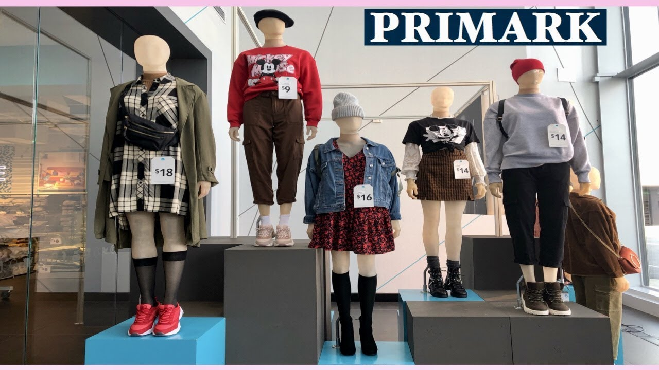 WHAT'S NEW IN PRIMARK | PRIMARK AUTUMN/WINTER WOMEN'S FASHION NEW COLLECTION |#SEPTEMBER2019