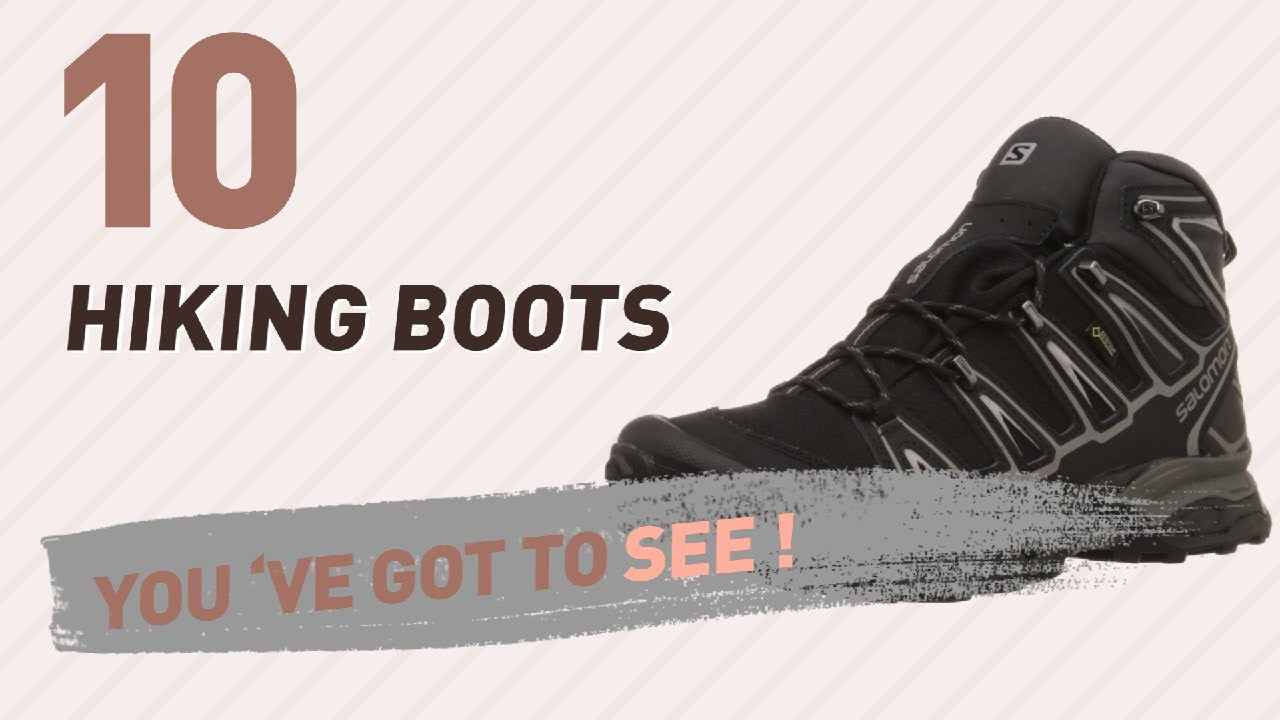 Salomon Hiking Boots For Men Collection // New & Popular 2017