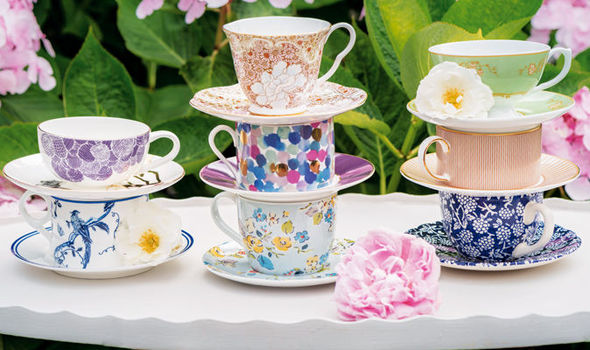 Cups and Saucers Amazon
