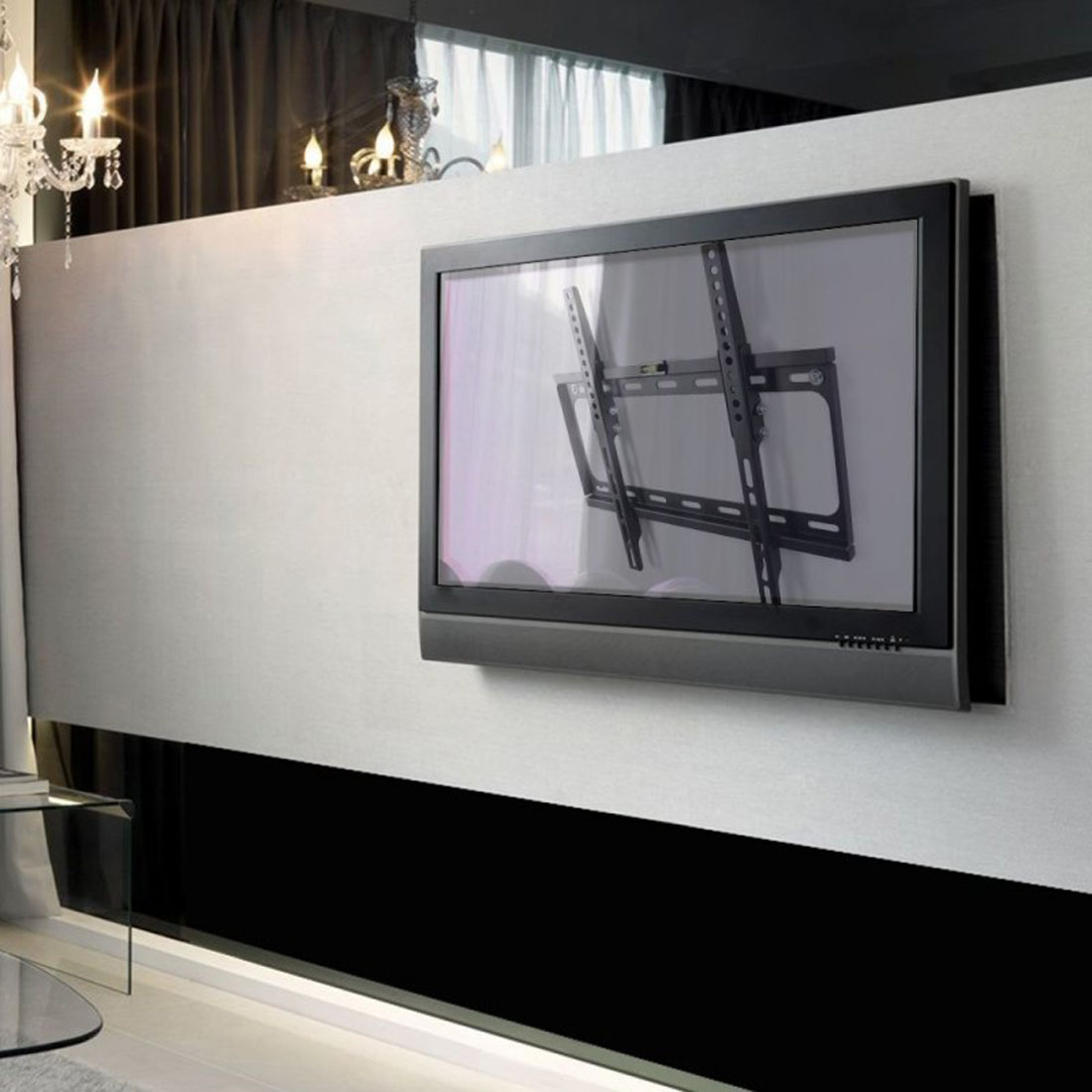 Flat tv wall mount for Concrete