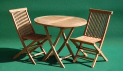foldable table and chairs garden