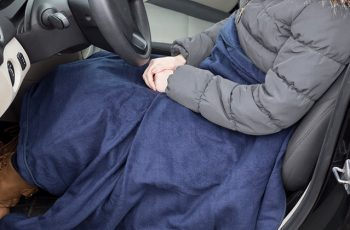 heated lap blanket for car