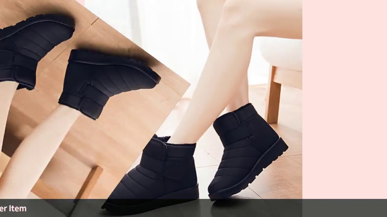 Women Boots 2019 Winter Shoes Woman Snow Boots Botas Mujer Waterproof Women Shoes Female Booties …