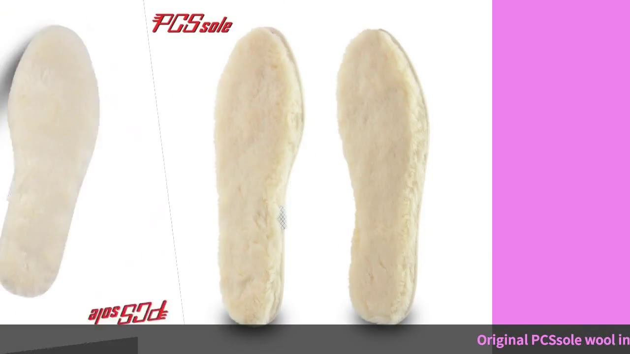 PCSsole Warm Heating Insole Wool Padded Insoles Winter Unisex Warm Insole Plush Pad Suitable For …