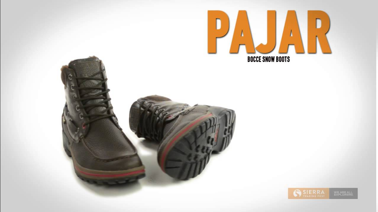Pajar Bocce Snow Boots – Waterproof, Insulated (For Men)