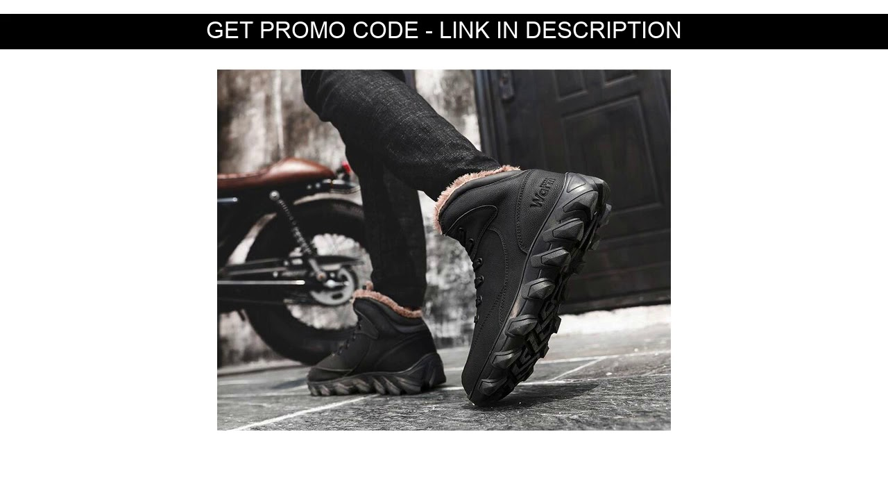 Good Item  AMSHCA 2018 Winter Men Snow Boot With Fur Rubber Wear Resistant Ankle Boots Male PU Leat