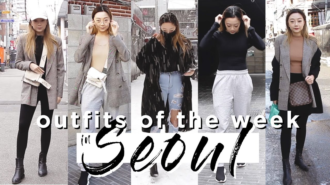 WINTER OUTFITS OF THE WEEK 2018 In Seoul!