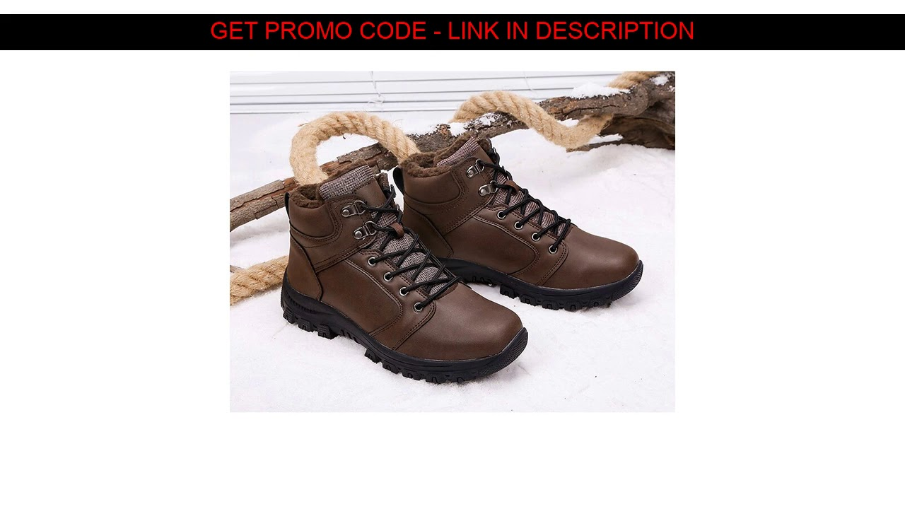 Buy  sk-cherish Winter men's shoes cotton boots high to help leather plus velvet thick warm outdoor