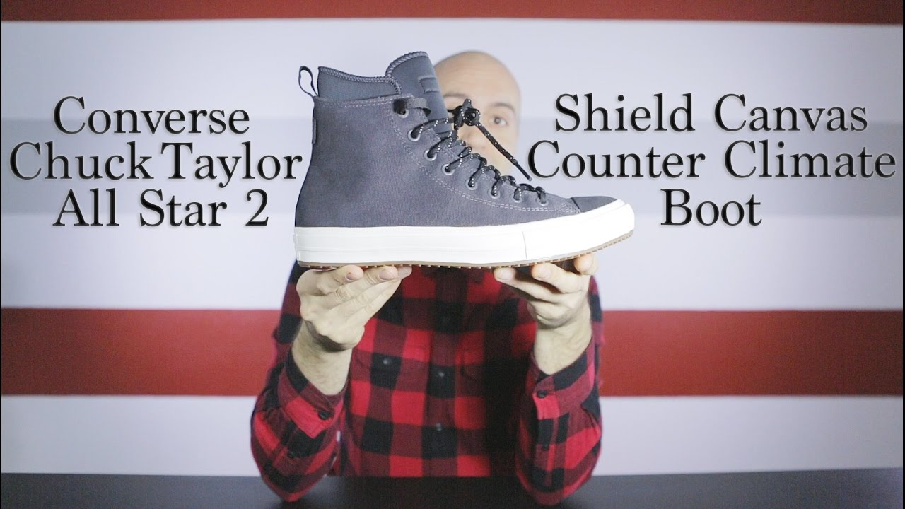 Converse Chuck Taylor II Shield Canvas Boot – Winter and Fall – Unboxing + On feet – Mr Stoltz 2016