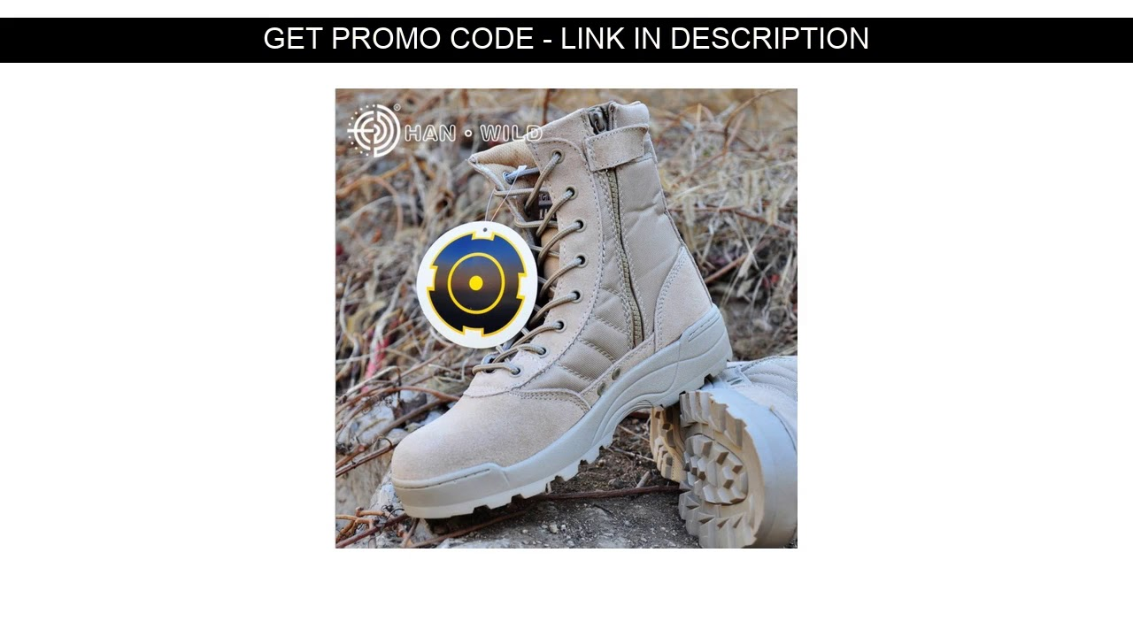 Best  Winter Autumn Men Military Boots Special Force Tactical Desert Combat Ankle Boats Army Hiking