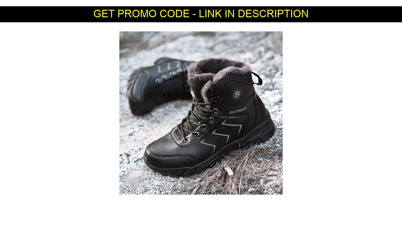 New  Men Winter Snow Boots Super Warm Men High Quality Waterproof Leather Sneakers Outdoor Male Hik