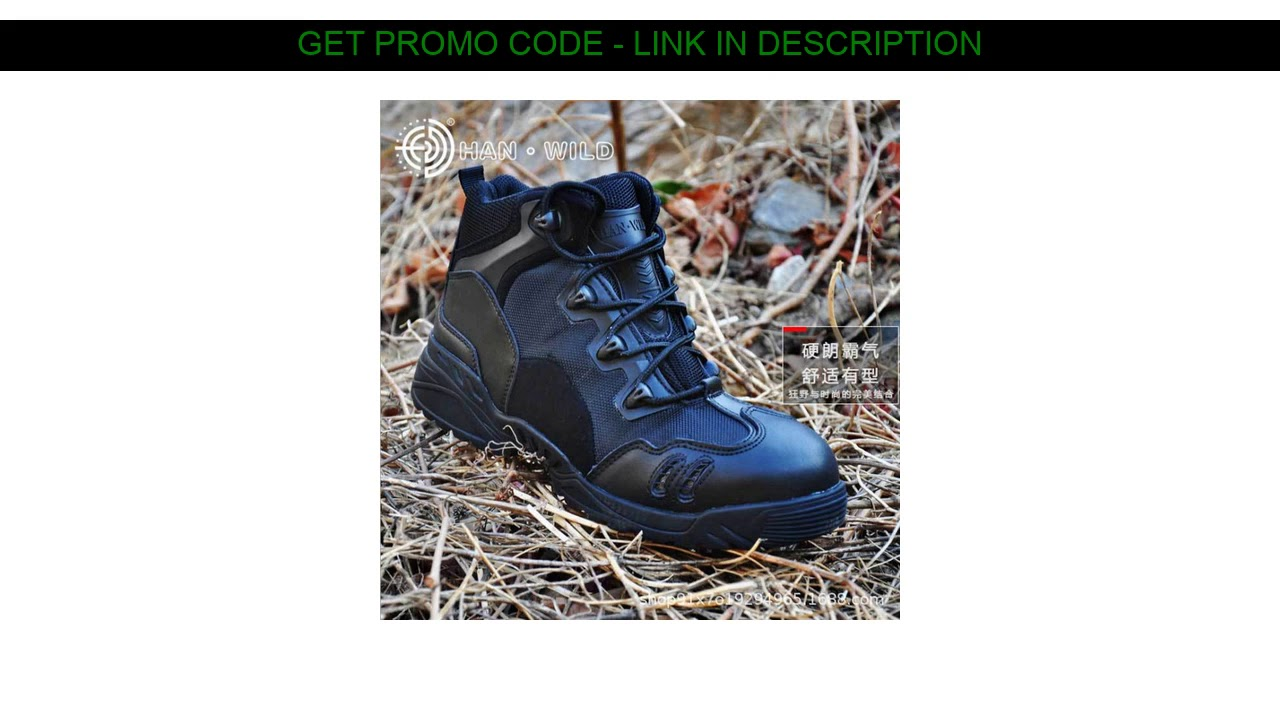 New  Cross-Border Magnum Boots Men's Low-Top Special Forces Tactical Boots Outdoor Hiking Shoes Bre
