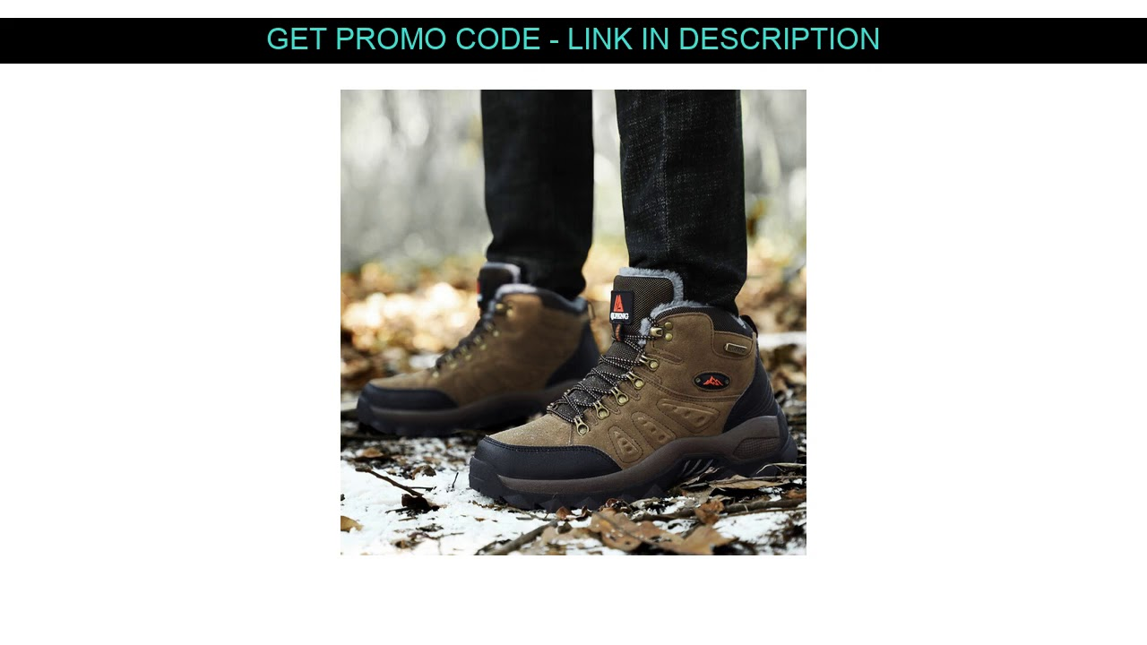 Get This  Winter Couples Outdoor Mountain Desert Climbing shoes Men Women Ankle Hiking Boots Plus S