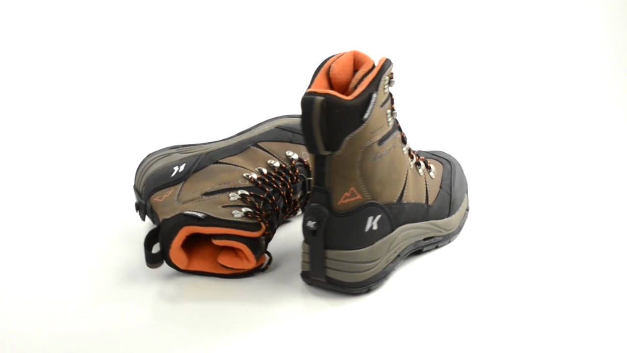 Korkers Snowjack Winter Pac Boots – Waterproof, Insulated (For Men)
