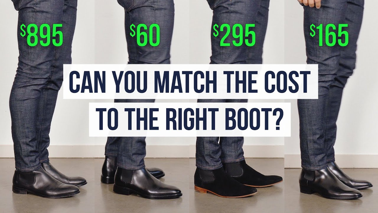 Chelsea Boots At 4 Different Prices | What Makes Each Unique? | One Dapper Street