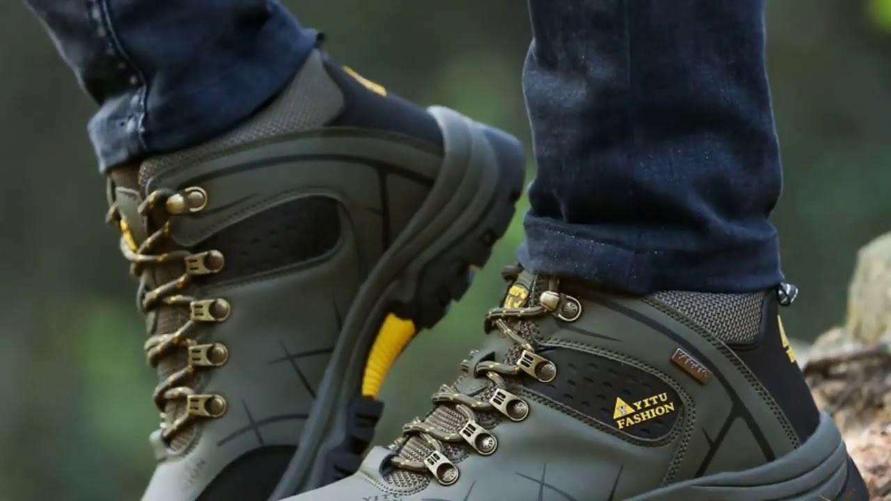 JUNJARM Brand Men Winter Snow Boots Warm Super Men High Quality Waterproof Leather Sneakers Outdo…