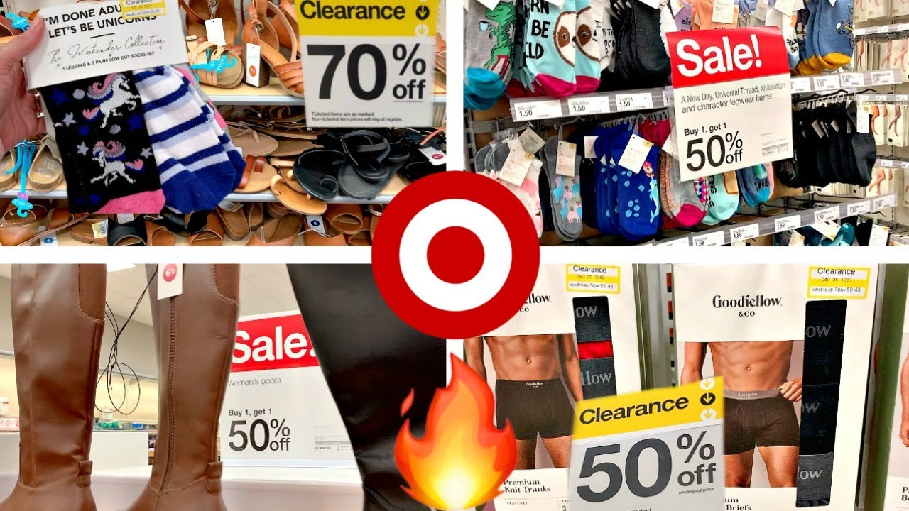 TARGET CLEARANCE!!! *HUGE* SHOES & CLOTHES SALE🔥BUY ONE GET ONE HALF OFF BOOTS and SOCKS!!!