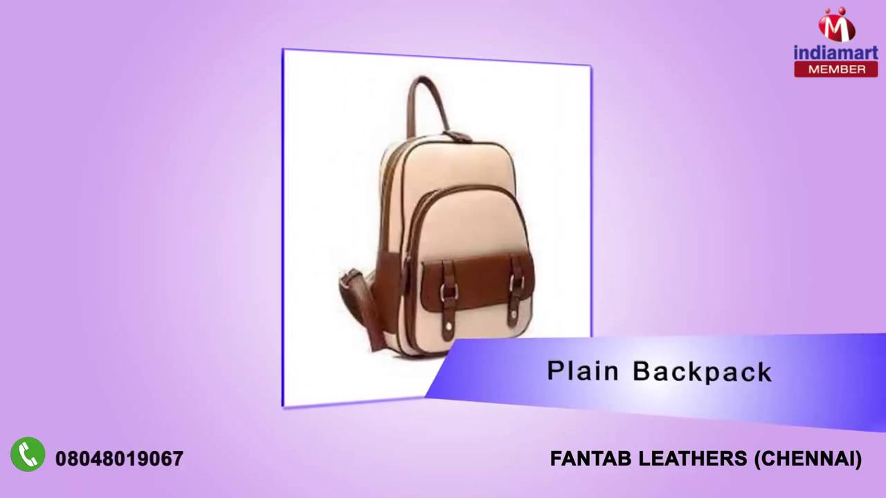 Leather Belt and Leather Bags By Fantab Leathers, Chennai