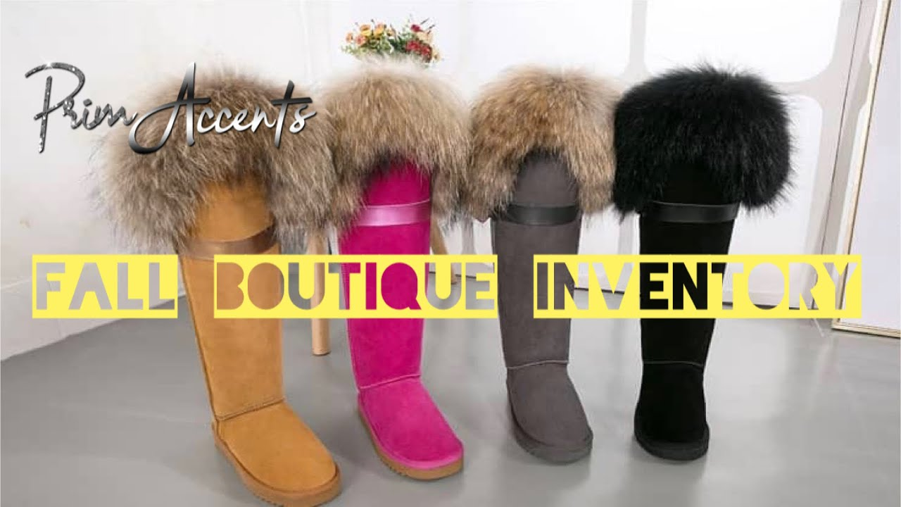 Fall Boot Inventory For Your Boutique!!! Ugg Inspired Snow Boots