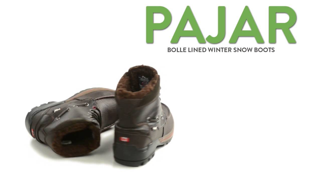 Pajar Bolle Lined Winter Snow Boots – Waterproof, Insulated (For Men)