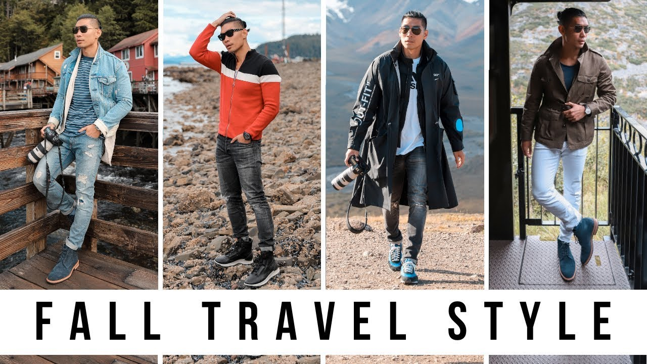 6 Travel Style Outfits for Fall | Men's Fashion 2019 | Alaskan Cruise