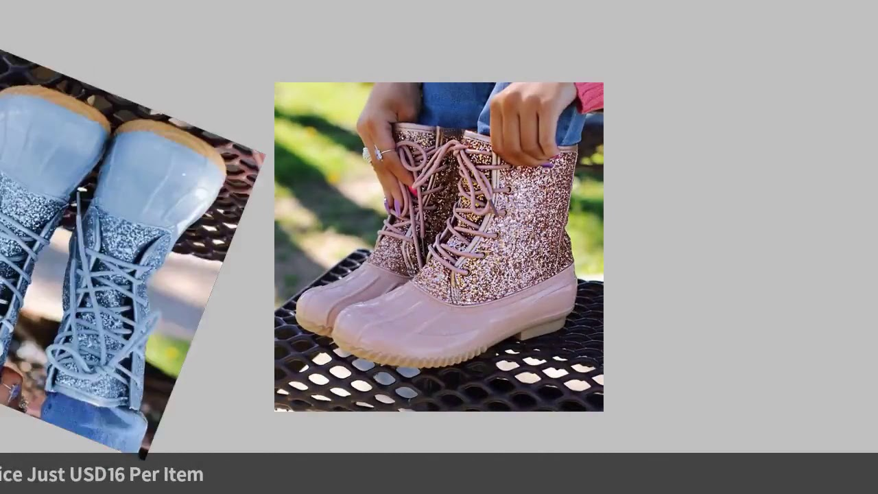 Casual Boots Winter Ankle Boots Women Shoes Diamond Warm Boots Female Plus Size Casual Shoes Plat…